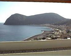 Eolie appartamenti vacanze a Lipari, Panorama da Case Mela